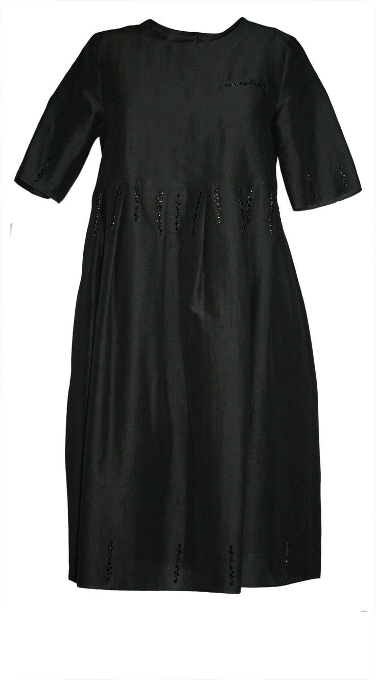 #SMaxMara Abito JACOPO colore Nero con inserti gioiello Sconto Saldi 30% #saldiestivi