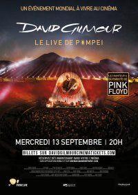 PINK FLOYD'S DAVID GILMOUR LIVE À POMPEI : Horaires, E-billets, Bande annonce   Cinémas Gaumont Pathé