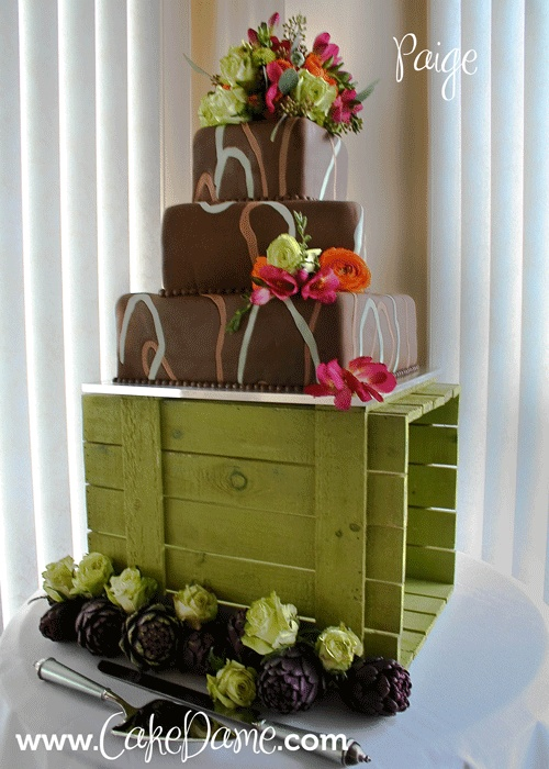 Cake Decorating Class Kitchener : 1000+ images about Gateaux Brun on Pinterest Chocolate ...