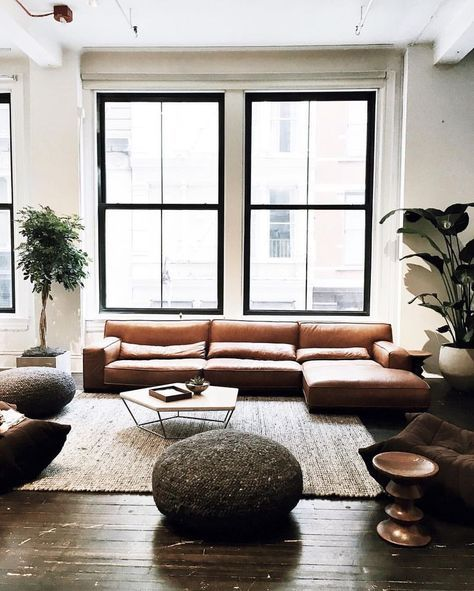 17 Best Ideas About White Leather Couches On Pinterest: 17 Best Ideas About Modern Leather Sofa On Pinterest