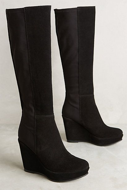 KMB Ninon Wedge Boots #anthropologie