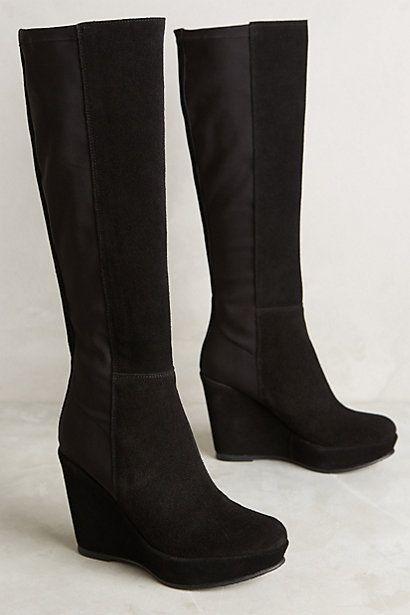 KMB Ninon Wedge Boots #anthropologie