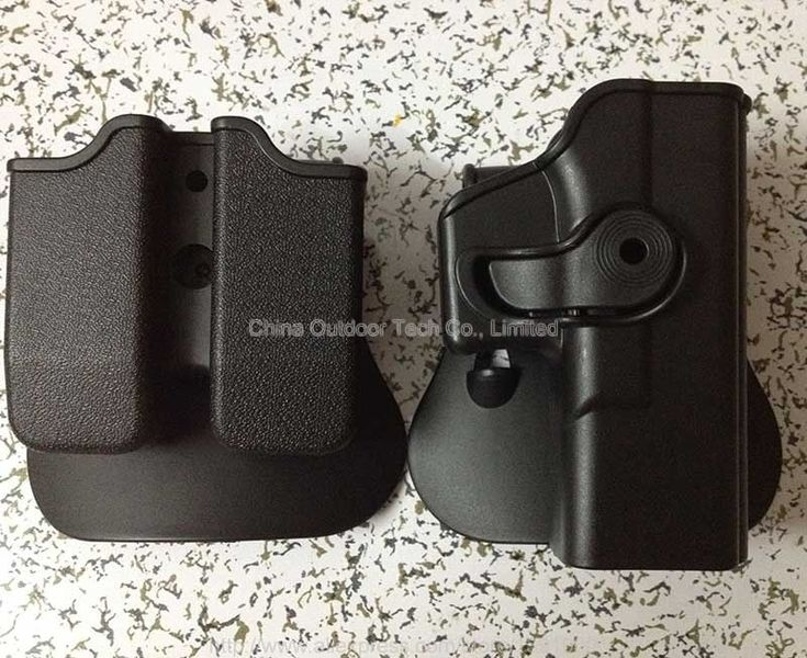 For GLOCK 17 Pistol & Magazine Paddle Holster Hunting Tactical Glock Pistol Holster 19 23 Magazine Pouchs RH  #Affiliate