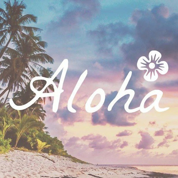 Say #aloha to this beautiful new Preppy Original iPhone wallpaper  Download it for free on our website or Pinterest | Link in bio