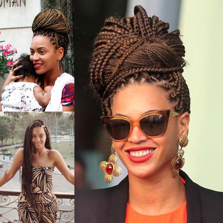 Beyonce Box Braids Beyonce Braids Box Braids Updo