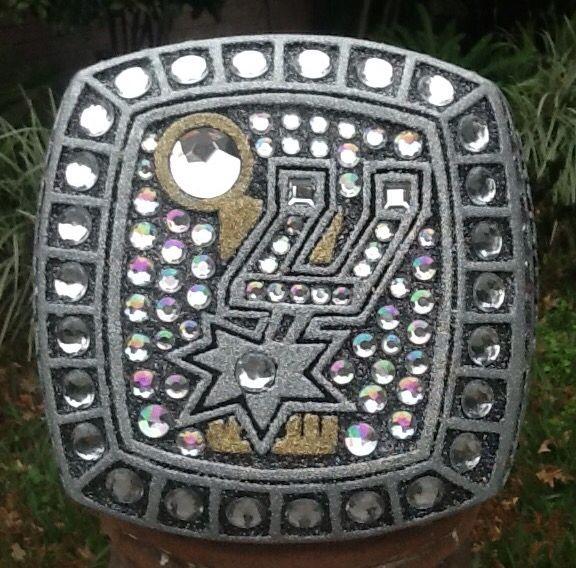 Spurs Championship Ring Hat
