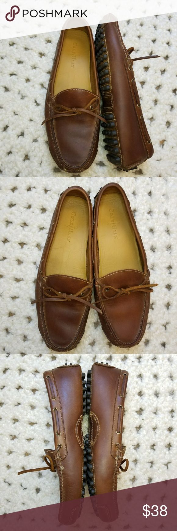 Cole Haan Grant Driver Loafers Cole Haan Grant Driver Loafers in excellent used condition. Size 9.5D. Minimal wear. Light scuffs on heels. Chestnut colored leather. Cole Haan Shoes Loafers & Slip-Ons