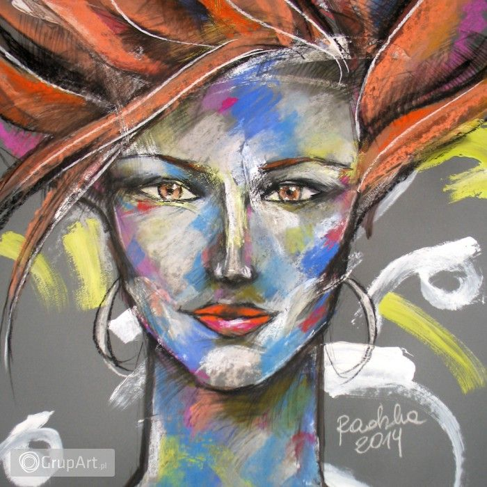 Grupart.pl - Lidia - rysunek pastelami suchymi - Na ścianę - Rysunek i grafika