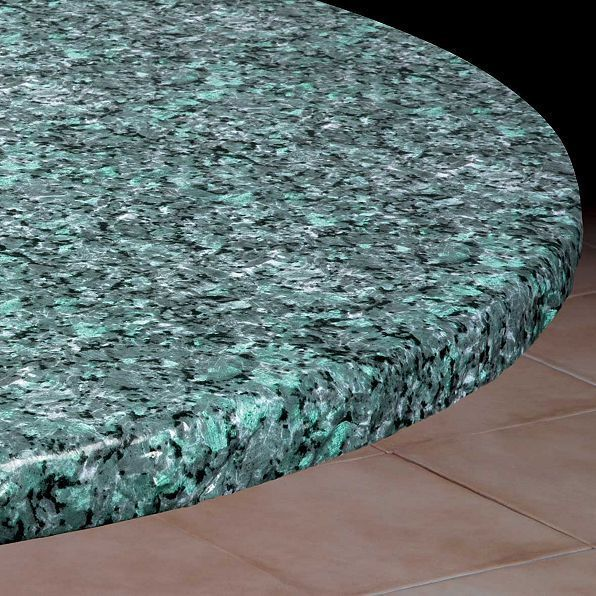 Blue Granite Round Elasticized Vinyl Table Cover Dining Kitchen 36 To 44 Dia Vinyl Table Covers Table Covers