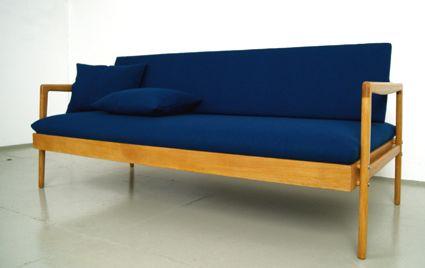 50er Jahre Sofa DWH Hellerau Daybed Sofa