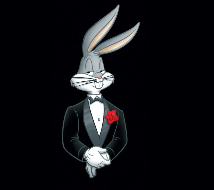a sharp dressed rabbit