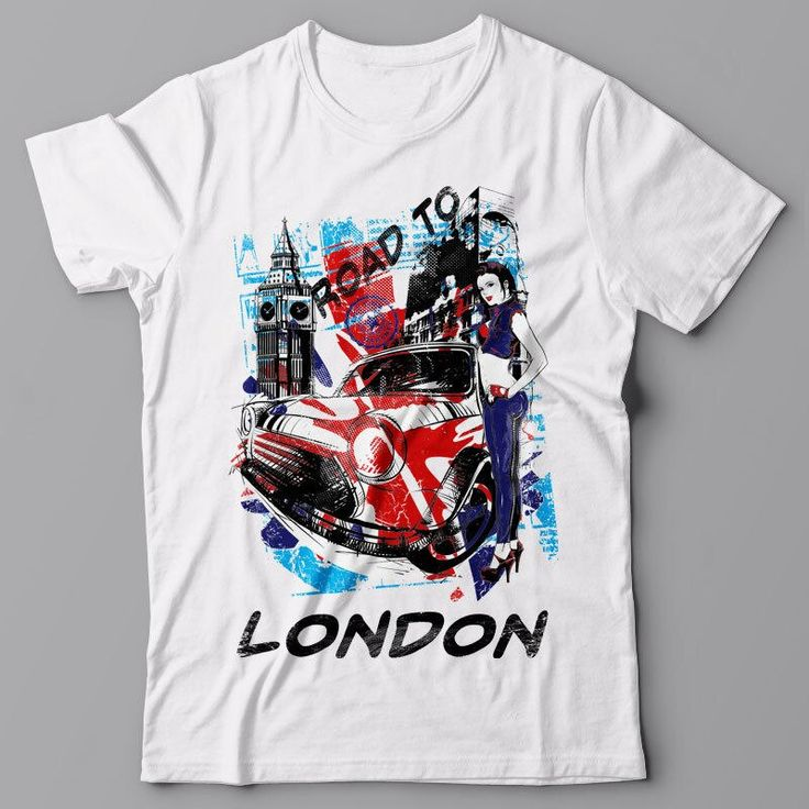 Tees Male Harajuku Top Fitness Brand Clothing Graphic Tee – Road To London Cla…