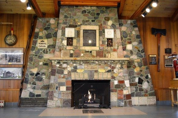 Fireplace of States – Bemidji, Minnesota - Atlas Obscura