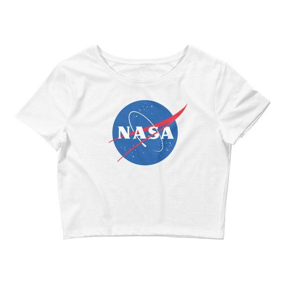 6bf0f8af NASA Crop Top - Nasa shirt - Nasa tshirt - astronomy shirt - outer space  Women's Crop Tee gift for | Products | Crop tops, Shirts, Tops