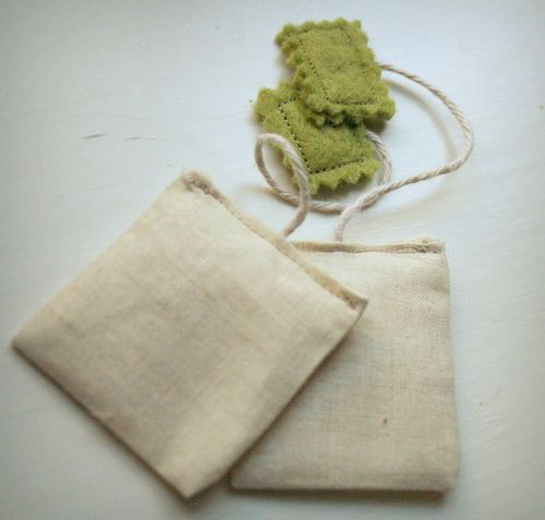 tea bag for play kitchen