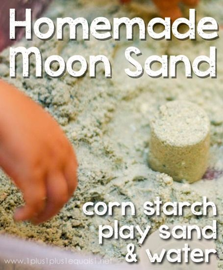 Homemade Moon Sand