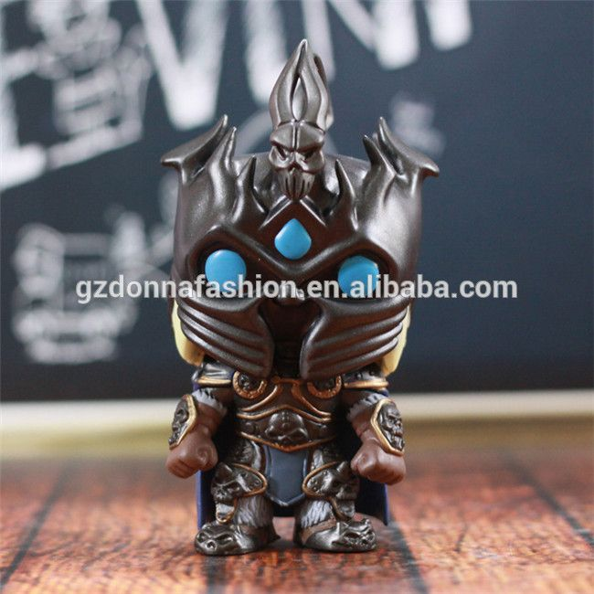 10cm FUNKO POP 15# WOW World of Warcraft The Lich King Arthas Menethil PVC Action Figure Collectible Toy Doll, View WOW, donnatoyfirm Product Details from Guangzhou Donna Fashion Accessory Co., Ltd. on Alibaba.com