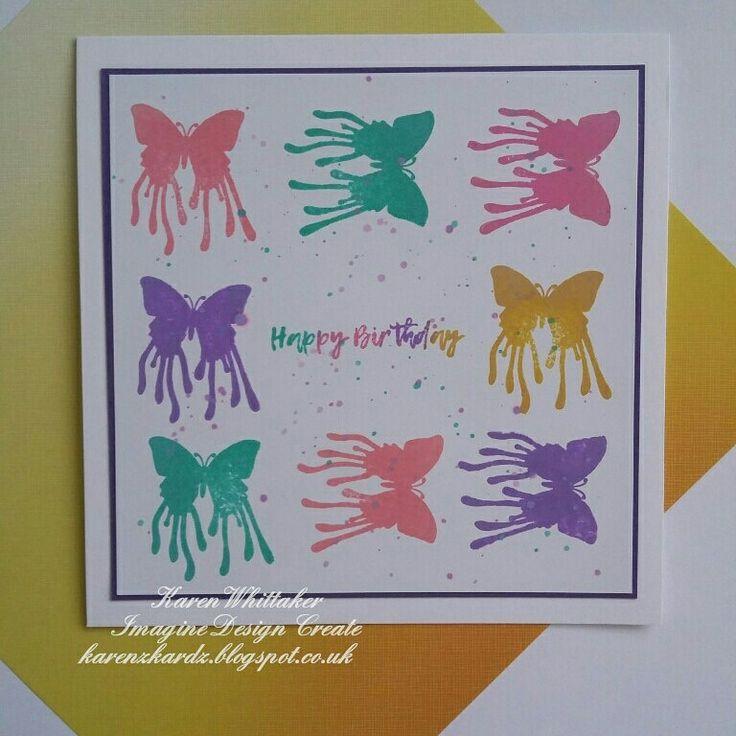 Butterfly Dreams by Imagine Design Create  #imaginedesigncreate #butterflydreams #butterfly #distressinks #stamping #stamps #cardmaking #cards #craft #creative #ilovetocraft #creativity #karenzkardz