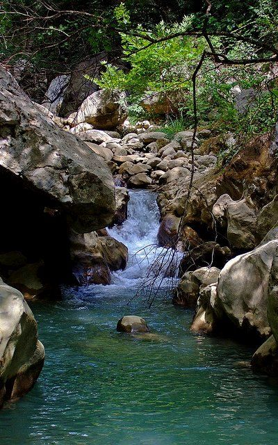 Lousious stream, Arcadia, Greece | Flickr - Photo by Sean Wallis
