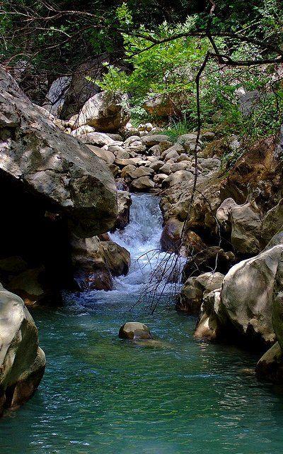 Lousious stream, Arcadia, Greece | Flickr - Photo by Sean Wallis