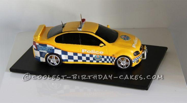 Police Car Cake Design : As 25 melhores ideias de Police car cakes no Pinterest ...