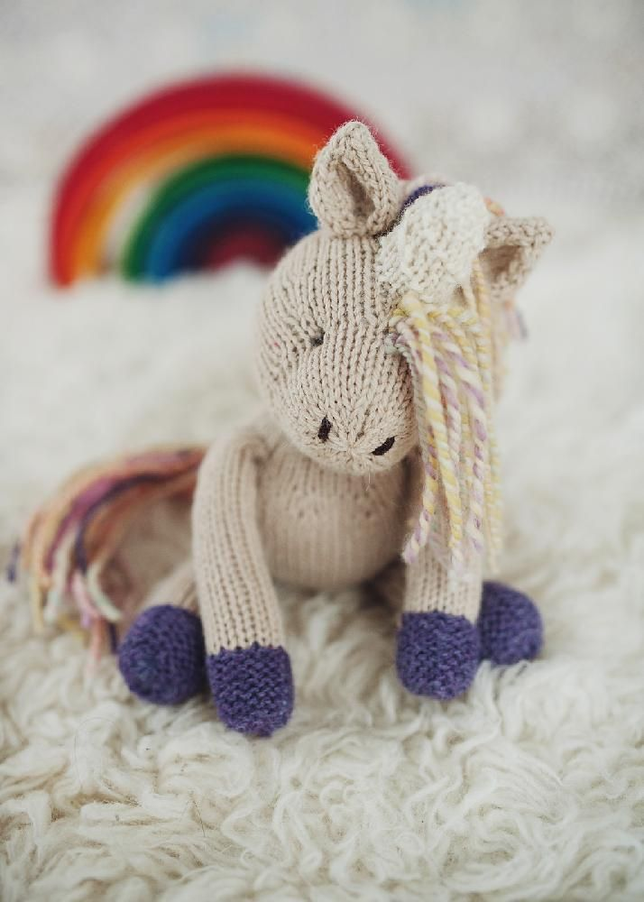 Rainbow Unicorn Knitting Pattern : Best unicorn knitting patterns images on pinterest