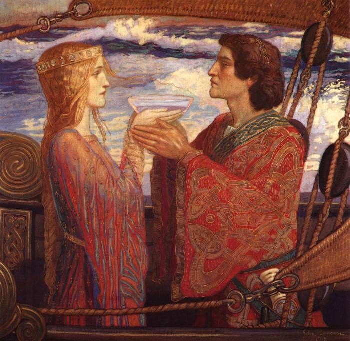 John Duncan, Tristan and Isolde, 1912