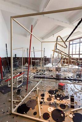 Ruses & Legacies -  Peter Robinson Ruses & Legacies, 2013 installation view: The 13th Istanbul Biennial photo: Servet Dibler