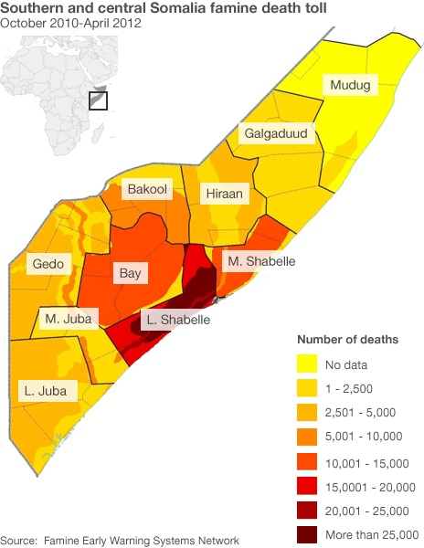 Nearly 260 000 People Died During The Famine That Hit Somalia From 2010 To 2012 A