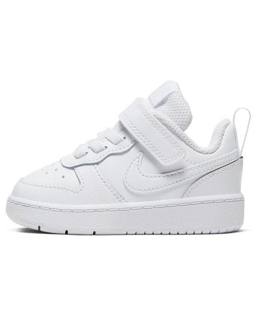 alarma Nathaniel Ward Cubo  Nike - Zapatillas deportivas de bebés Nike blancas con cordones y velcro |  Zapatillas nike bebe, Ropa de bebé nike, Zapatillas nike blancas