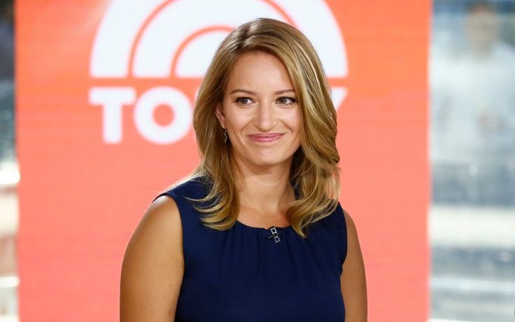 "TODAY -- Pictured: (l-r) Katy Tur and Matt Lauer appear on NBC News' ""Today"" show -- (Photo by: Peter Kramer/NBC/NBC NewsWire)"