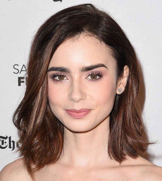 Actress Lily Collins attends the Premiere Screening of 20th Century Fox's 'Rules Don't Apply' at the Castro Theatre on November 21 2016 in San...