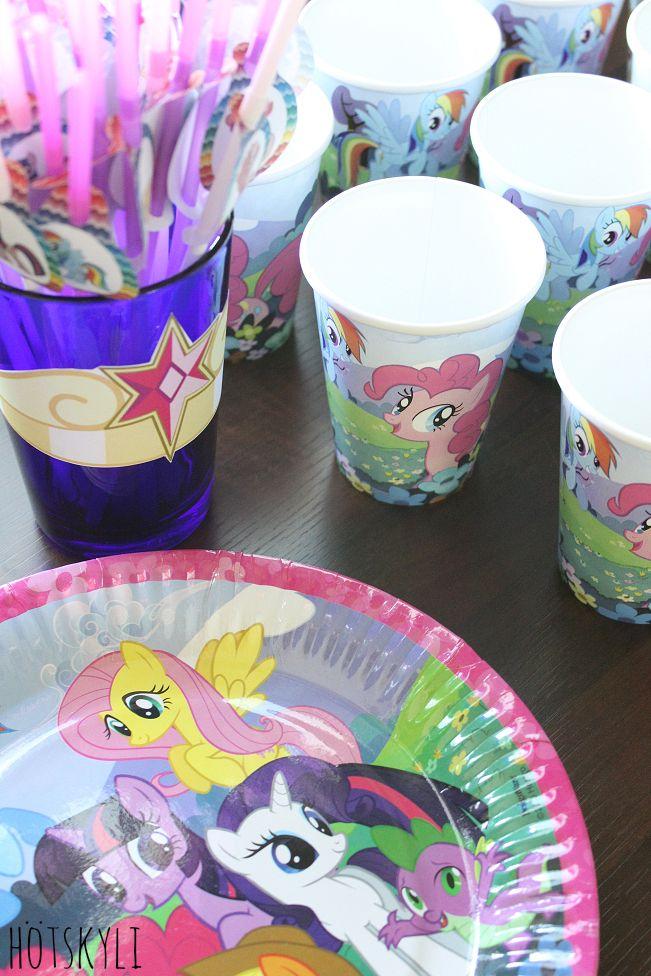 3v My Little Pony -synttärit