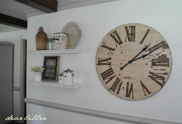 25+ Best Ideas About Large Clock On Pinterest