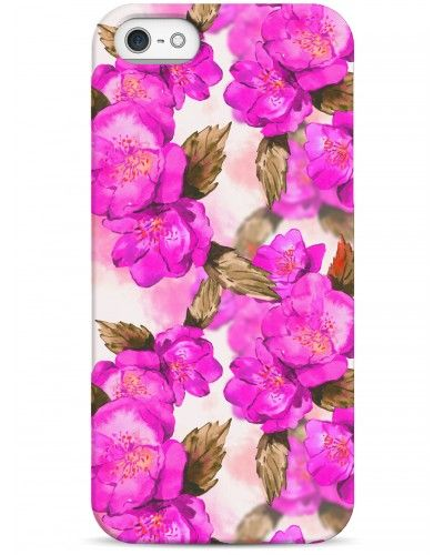 Фуксия - iPhone 5 / 5S / 5C Дизайнерские чехлы для iPhone #чехлы для iPhone #Sahar cases