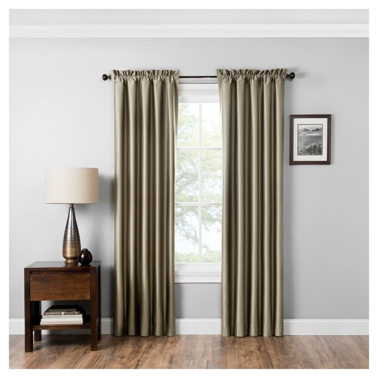 Miles Thermaback Blackout Curtain Panel - Eclipse Absolute Zero