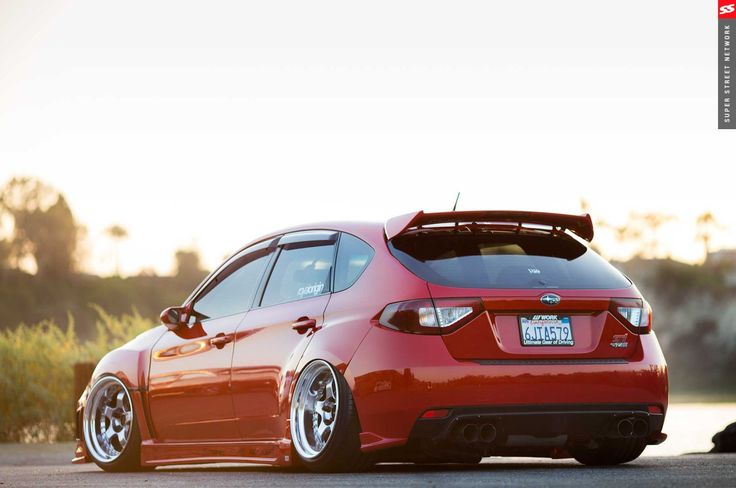 Upyourexhaust Big Turbo 09 Subaru Sti Hatchback