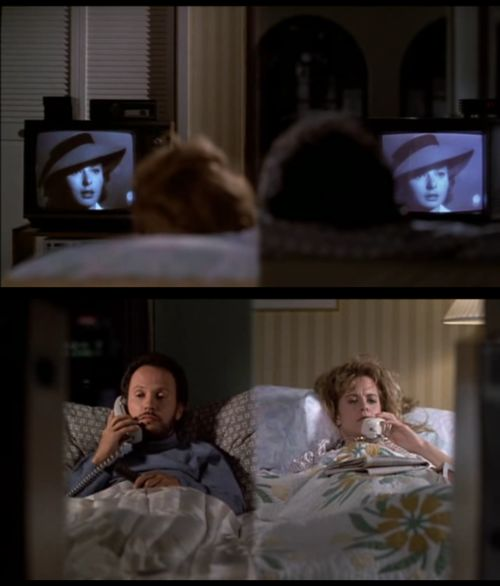 Harry and Sally watching Casablanca.