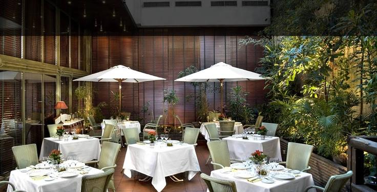 L'Albufera Restaurant @ Melia Castilla, Madrid Spain.  The Best Paella in town.