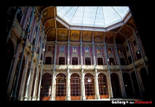 Central Courtyard, Palacio da Bolsa, Porto, Portugal