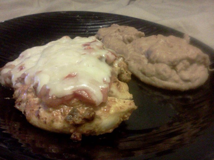 """#FanMail @italianRoseInc #Recipe """"Trevor and I made Mexican chicken with the Italian Rose Salsa! It was DELICIOUS!!!!"""" Grilled Chicken topped with ItalianRose Fresh Salsa & Cheese!"""