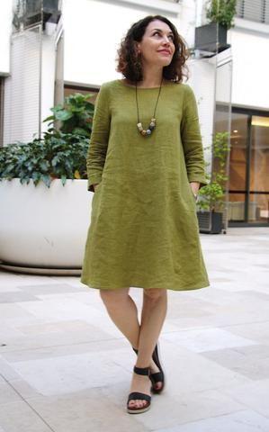 Bella Dress Pattern - Patterns - Tessuti Fabrics - Online Fabric Store - Cotton, Linen, Silk, Bridal & more