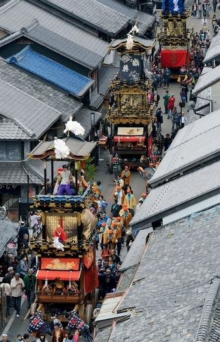 Floats, Inuyama Festival, Aichi, Japan 犬山祭 ...such an amazing parade! ~Janie•was•here~