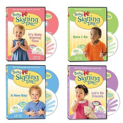 awesome Baby Signing Time DVD Collection Plus 4 Free CDs - For Sale View more at http://shipperscentral.com/wp/product/baby-signing-time-dvd-collection-plus-4-free-cds-for-sale-2/