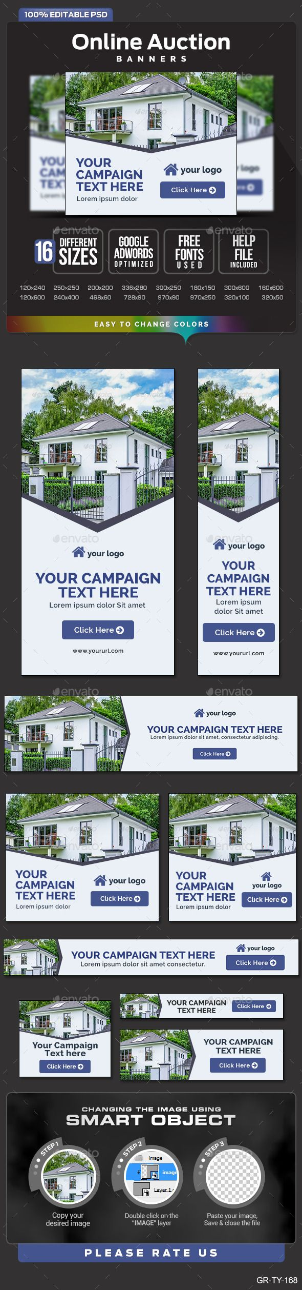 Real Estate Auction Web Banners Template PSD | Buy and Download: http://graphicriver.net/item/real-estate-auction-banners/9725461?WT.oss_phrase=&WT.oss_rank=25&WT.z_author=doto&WT.ac=search_thumb&ref=ksioks