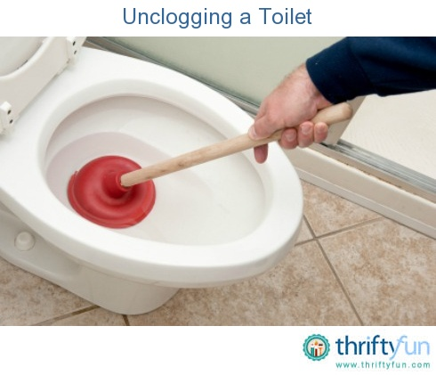 Unclogging a toilet toilet household and organizing for Cleaning a bathroom sink drain
