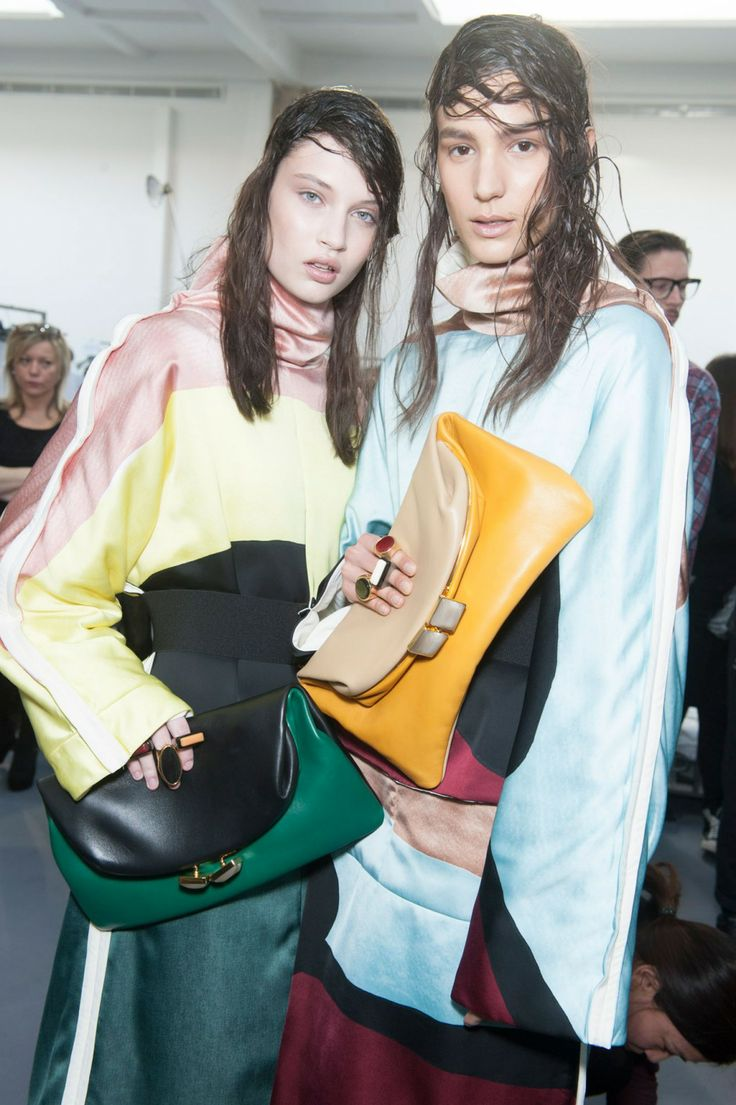 Backstage Pass: Milan Fashion Week Fall 2014 - Marni Fall 2014