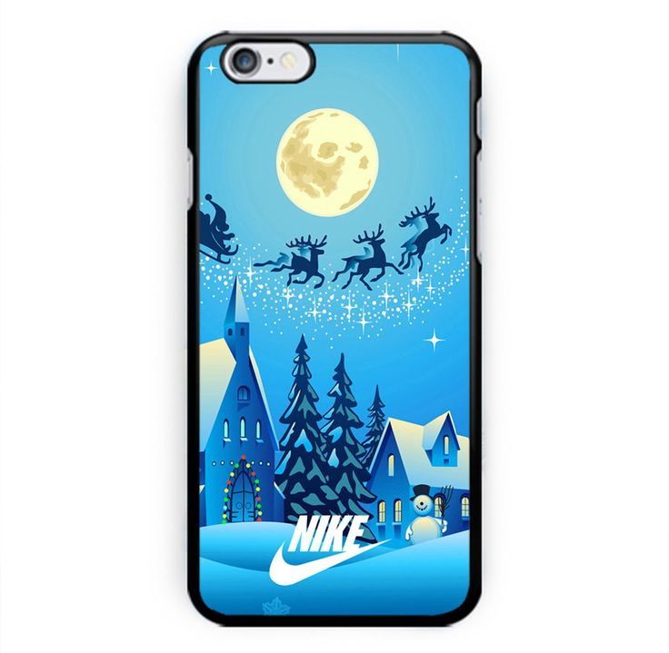 Hot Nike Deer Christmas Blue Sky for iPhone 6s, 6s Plus, 7, 7 Plus Black Case #UnbrandedGeneric  #iPhone Case #iPhone #Case #Phone Case #Handmade #Print #Trend #Top #Brand #New #Art #Design #Custom #Hard Plastic #TPU #Best #Trending #iPhone 6 #iPhone 6s #iPhone 7 #iPhone 7s #Nike #Kate Spade