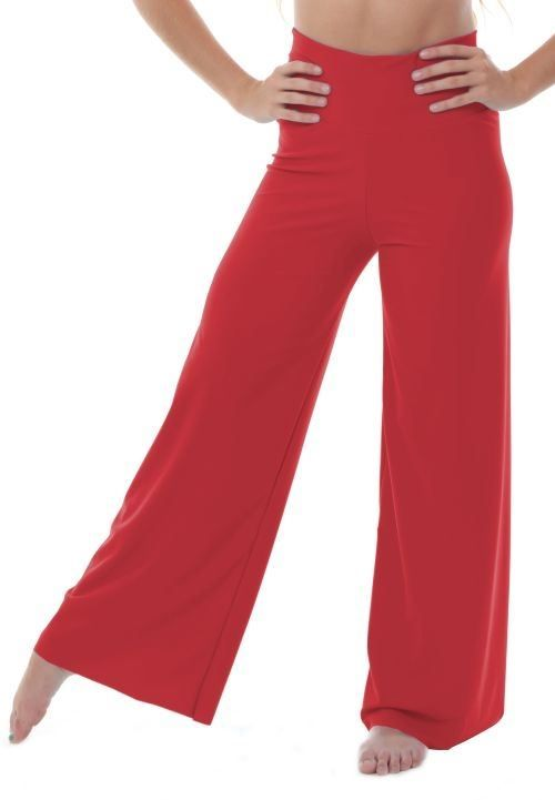 High Waisted Palazzo Pants (Lycra)