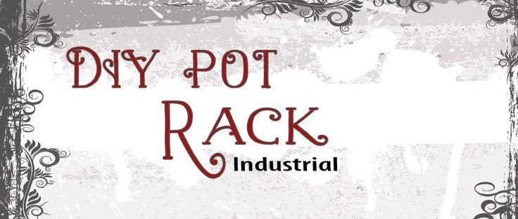 DIY Pot Rack - Pendant Lights or Industrial Wood?